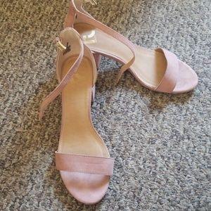 Report strappy heel